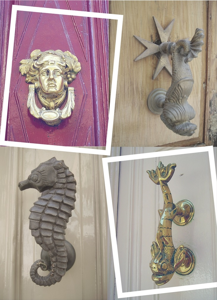 Malta in Summer Door knockers